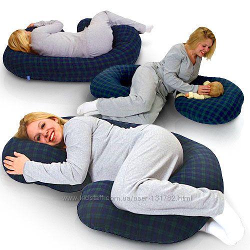Подушка для беременных  с наволочкой. Дешево