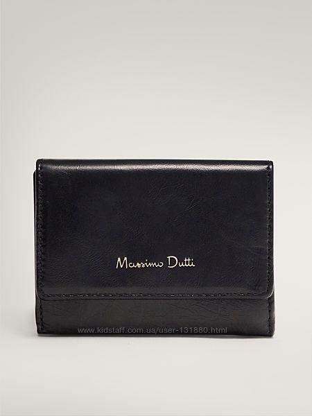 Кожаный кошелек Massimo Dutti