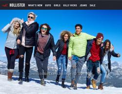 Заказы с сайтов Abercrombie&Fitch, Abercrombie Kids, Hollister