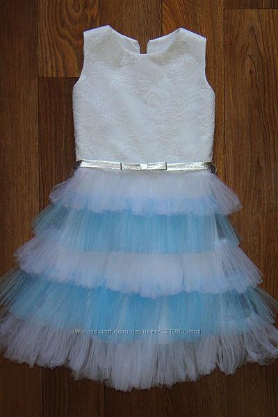 Шикарное платье для маленькой принцессы на новый год