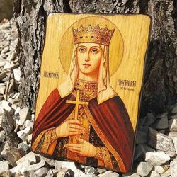 Деревянные иконы ручной работы под заказ