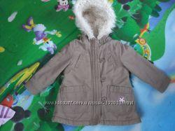 Парка-шубка-пальто утеплена  Ladybird до 2р Єврозима