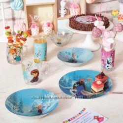 Детская посуда Disney Luminarc. Новинки. Экономим на подарочной коробке
