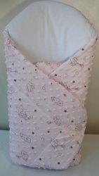 Конверт-одеяльце на выписку, в коляску