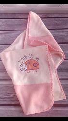 Детские одеяльца-пледы флис Польша