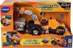 Робот-трансформер Динозавр. VTech Switch & Go Dinos