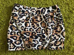 Мини юбка River island леопард
