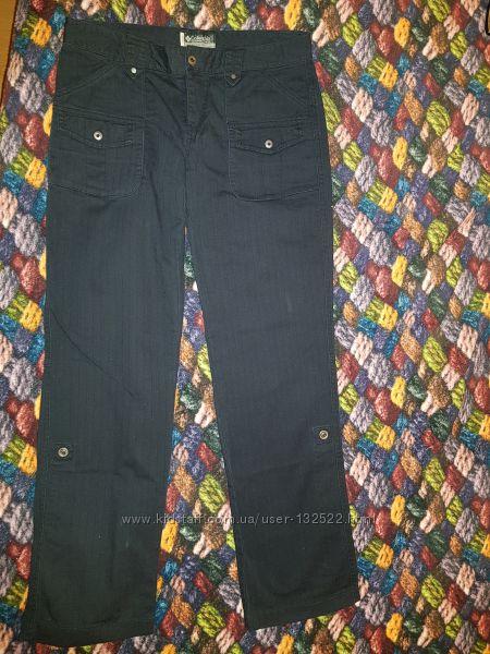 Коттоновые женские брюки Columbia, размер 2, бу