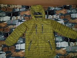 Зимняя куртка для мальчика Snow Dragons, размер 7, б/у, оригинал,