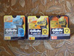 Сменные картриджи лезвия Gillette Fusion Proshield, пр-во США, оригинал