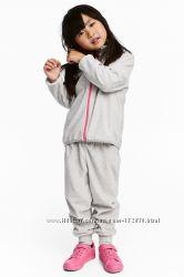 Тёплый флисовый костюм H&M для девочки