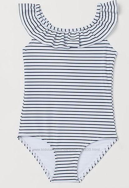 Яркие купальники H&M