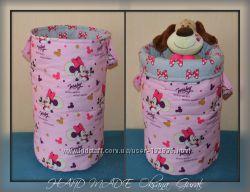 Текстильные корзины для игрушек для деток