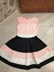 Нарядное платье из трикотажа