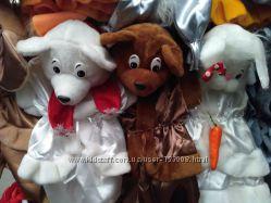 Новогодний костюм Поросенок Мишка Цыпленок Мышонок Пингвин Зайка Волк