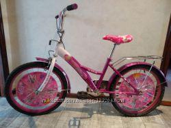 Велосипед для девочки, колеса 20 дюймов