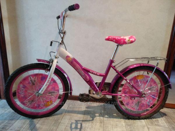 Велосипед для девочки, колеса 20 дюймов.