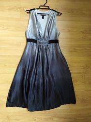 Платье Mango р-р М натуральный шелк