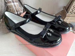 Нарядные и школьные туфли  32-37 ТОМ. М - 3 модели