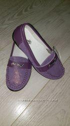 АкцияШикарные стильные  полностью кожаные мокасины 27-37- 5 моделей