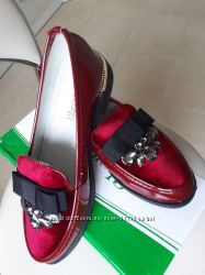 Мега крутые осенние туфли лоферы и оксфорды в школу 31-37р-две модели
