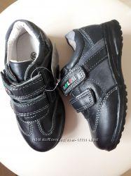 Шок цена Полностью кожаные туфли  кроссовки полуботинки 26-31р