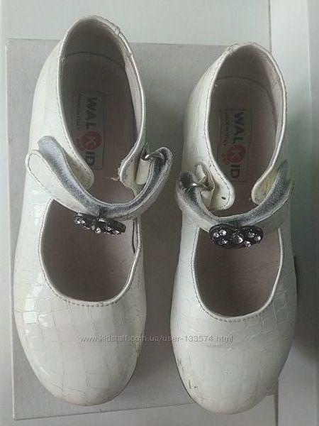Нарядные кожаные туфли Италия