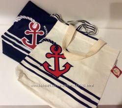 Летняя сумка для пляжа или прогулок в морской тематике из японии