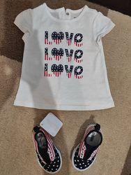 Стильные слипоны Джимбори и футболка