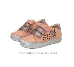 Кожаные кроссовки туфли 25-30 D. D. Step 040-433 дд степ