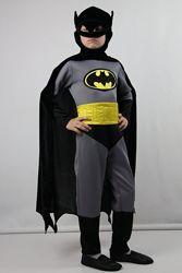Карнавальный костюм Бэтмен, рост 105-130, возраст 5-8
