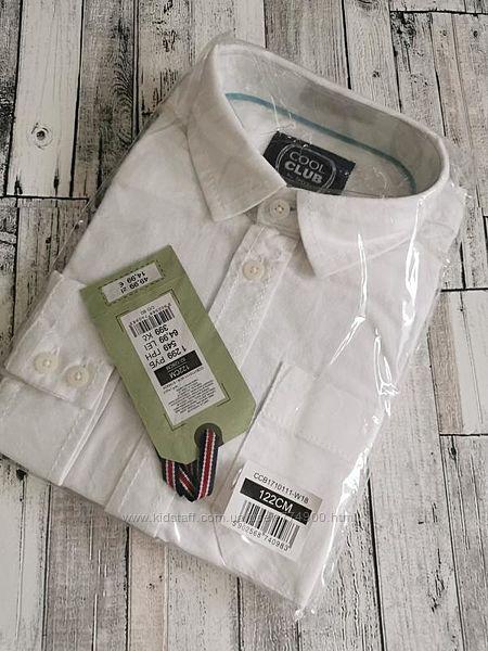 Стильная рубашка на мальчика р. 122 ТМ Cool Club