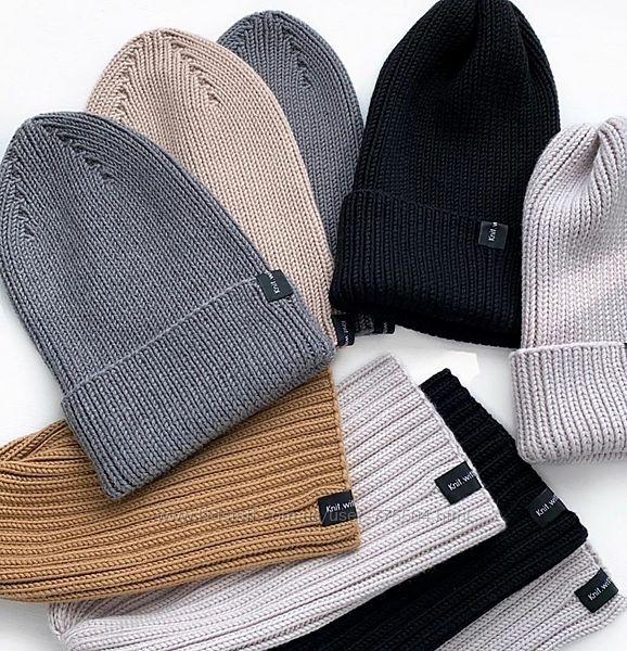 Детские шапочки ручной работы