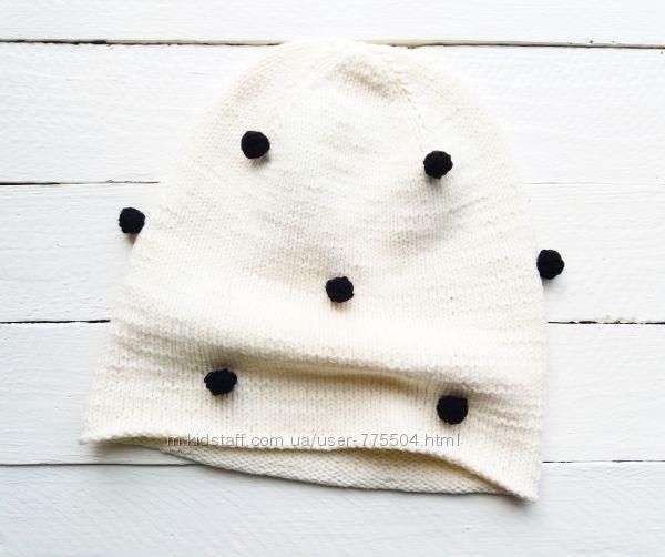 СКИДКА Весенняя шапочка ручной работы для девочки
