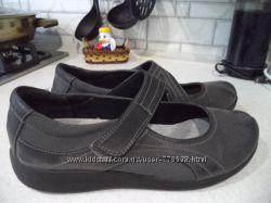Спортивные туфли, мокасины clarks cloudsteppers  39р