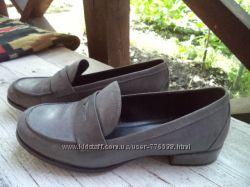 кожанные туфли Ecco 37р