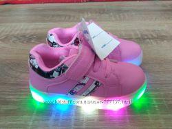 Крутые светящиеся ЛЕД кроссовки Том. м. Boyang для девочек