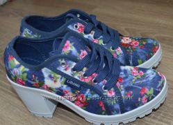 Распродажа Крутые удобные кеды, ботиночки на каблуках 36-39 р Фирмы Libang