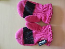 Варежки рукавички Тинсулейт 1-3 года
