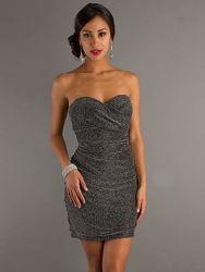 Мини платье сексуальное с люрексом 44 46 48 50 s m xl