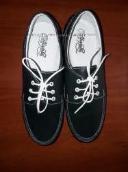 Кожаные туфли Мальвы