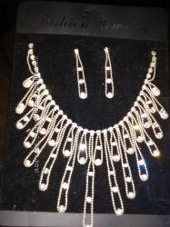 Наборчик Ожерелье и серьги-висюльки