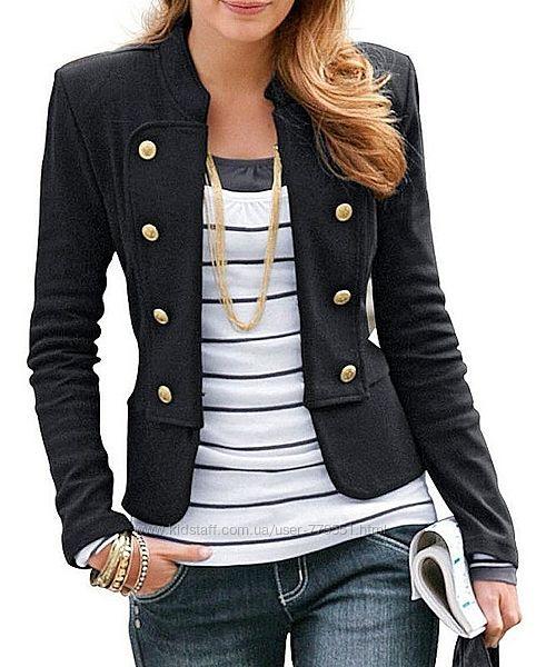 Гусарский пиджак, жакет, курточка H&M шерстяной, милитари стиль