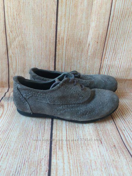 19см-28р Zara кожаные туфли на девочку арт. 3196