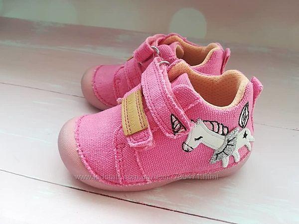 Текстильные ботиночки DDStep