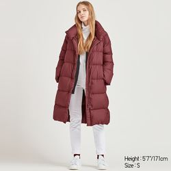 Женское длинное пальто UNIQLO