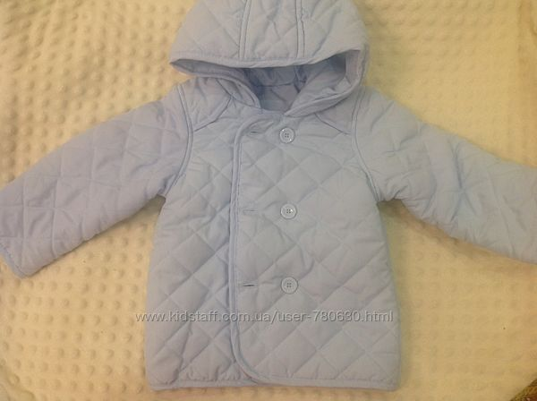 Демисезонная курточка mothercare 12-18 m