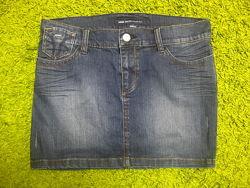 Модная джинсовая мини юбка Miss Sixty S p.