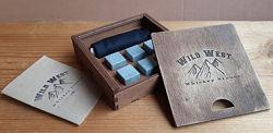 АКЦИЯ Камни для виски охлаждающие Wild West 6, подарочный набор