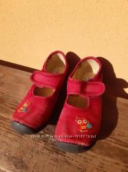 Текстильные туфельки тапочки 31 размер 20см